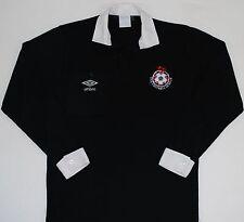 1988-1990 FOOTBALL LEAGUE REFEREE UMBRO FOOTBALL SHIRT (SIZE M)