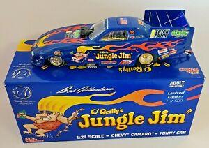 1/24 BOB GILBERTSON JUNGLE JIM TRIBUTE CAMARO FUNNY CAR #013 OF ONLY 500