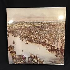 VTG Puzzle A Birds Eye View Of Philadelphia 551 Pcs 18x24 Stephenson 1975 Sealed
