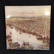 VTG Puzzle A Birds Eye View Of Philadelphia 551 Pcs 18x24 Stephenson 1975 Sealed