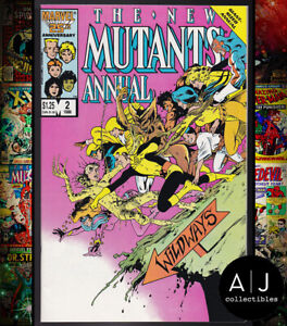 New Mutants Annual #2 NM- 9.2 (Marvel)