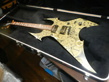 Bc rich Brass city beast art body collection 2003 Gears electric guitar