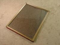 Ornate Picture Frame Gold or Brass Tone Metal BI