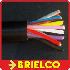 CABLE MANGUERA ACRILICA NEGRA 12X0.5MM 1 METRO COLORES VARIADOS EXT 12MM BD10091