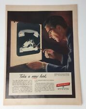 Original Print Ad 1953 WESTERN ELECTRIC Bell Telephone System
