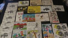 CB-RADIO 1970s HUGE LOT OF 24 HANDLE postcards LIKE Items from Quebec rare
