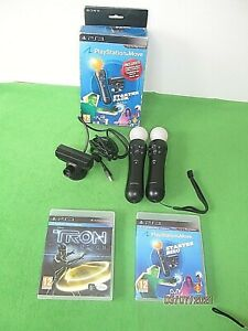 PS3 MOVE STARTER PACK+ EXTRA CONTROLLER & TRON GAME