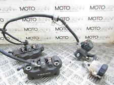 Suzuki GSXR 600 08 09 10 front brake calipers mater cylinder pump hand perch lev