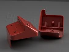 Weiß 3233557 3233558 3233559 Arbeitsscheinwerfer Abdeckung IHC XL Kabine Rot