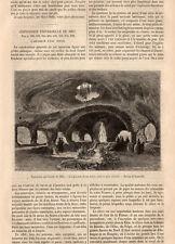PARIS EXPOSITION UNIVERSELLE EXIBITION AQUARIUM D EAU DOUCE PRESS ARTICLE 1867