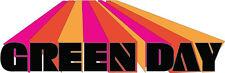 "Green Day Music Bumper Sticker  8"" x  3"""