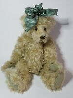 Vintage OOAK Artist Ruthie Oneill Mohair Teddy Loves Company Bear Jointed 15""