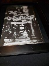 Bash & Pop Loose Ends Rare Original Radio Promo Poster Ad Framed!