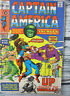 Marvel Captain America The Hulk Comic #130 Bronze Age 1970