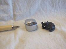 E006 Dollhouse Set Silver Electric Rice Cooker w/ cat warm epoch Miniature 1:12