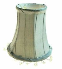 Clip Lamp Shade Chandelier Fabric Modern Style Light Home Decor Bead (1-5 pack)