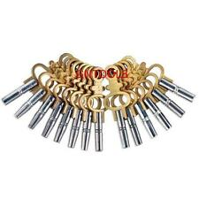 Set 14 Universal Pocket / Fob Watch Keys Sizes 00-12 Wind Up Tools Winder