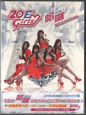 20E Girls: Hello! (2013) Taiwan /  CD & DVD & BOOKLET TAIWAN