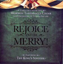 Mormon Tabernacle Choir - Rejoice & Be Merry [New CD]