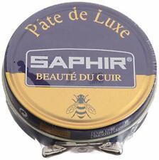 Saphir Luxury Wax Paste Shoe Polish, High Gloss, 50 ml