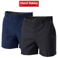 Mens Hard Yakka Permanent Press Shorts Office Supercrease Work Comfy Y05594