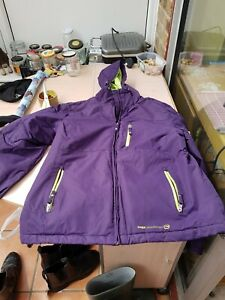 Ladies large purple coat by radiance free country