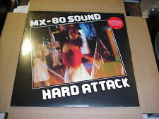 LP:  MX-80 SOUND - Hard Attack SEALED NEW REISSUE 1977 debut + download