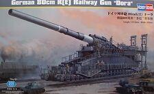 "HOBBYBOSS® 82911 German 80cm K(E) Railway Gun ""DORA"" in 1:72"