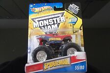 2011 MONSTER Jam Truck Spiderman Spider-Man & Tattoo #55
