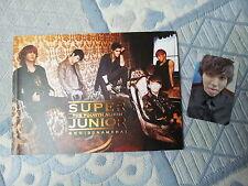 Super Junior CD Bonamana version A Sungmin photocard