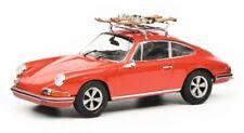 Schuco Porsche 911 s Ski Rack Red 1 43 450258700