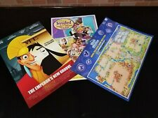 3x DISNEY EXCLUSIVE POSTERS D23 EXPO EXCLUSIVE Emperor New Groove - Tangled