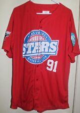 LAS VEGAS STARS 51's MINOR LEAGUE BASEBALL CLUB THROWBACK JERSEY Sz XL