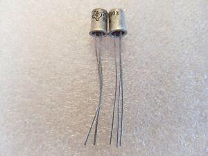 NOS Original 2G377 Texas Instruments Transistor 10 X PIECES