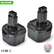 2 NEW 9.6V Battery for DEWALT DW9061 DW9062 DE9062 9.6 VOLT Drill
