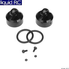 Tekno RC TKRTKR8702 Shock Caps (7075 emulsion/vented/standard black ano 2 pieces