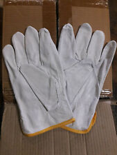 SPECIAL MOVE OUT SALE 1 Doz Soft Pigskin-Cowhide Leather Drivers Gloves Size 2XL