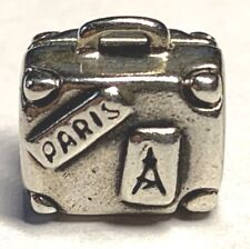 Pandora Sterling Silver Bead Charm Suitcase 790362