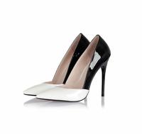 Fashion Ladies Stilettos Pointed Toe Slip On Pumps High Heel Clubs Shoes Plus Sz