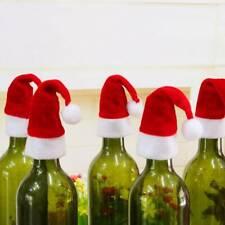 New Christmas Decorations Hats 10pcs/lot Champagne Glass xmas Decor Party