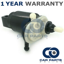 FOR OPEL CORSA D (2006-2015) FRONT & REAR TWIN OUTLET WINDSCREEN WASHER PUMP