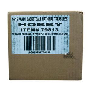 2014-15 Panini National Treasures Hobby Basketball 3-Box Case