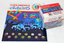 Panini COPA AMERICA CHILE 2015 - DISPLAY BOX CAJITA 50 TÜTEN PACKETS + ALBUM