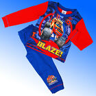 Boys Official Genuine Blaze and the Monster Machines Pyjamas Age 2 3 4 5 Years