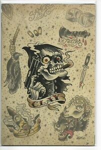 Sons of Anarchy Redwood Original #4 Virgin Variant Brian Level Clay Tattoo 2016