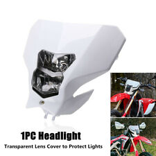 1X H4 Headlamp Cross-country Motorcycle Refitted Running Light Fairing Cover Kit