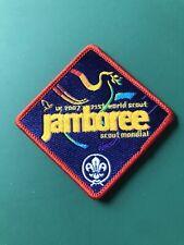 2007's World Scout Jamboree Participant Badge