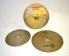 """Lot of 3 Cymbals - 18 """" Zildgian, 18"""" Camber, 16"""" Unknown"""