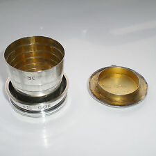 Finest Antique Sampson Mordan & Co Sterling Silver Collapsible Beaker Cup c1899
