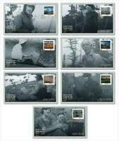 2020 Canada Post 📭 GROUP OF SEVEN 🎨 COMPLETE SET 7 FIRST DAY COVERS (OFDC) 📬